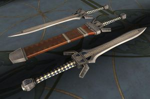 Dwarven Sword by heidifury