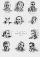 The Many Faces of Doctor House by Sini-M