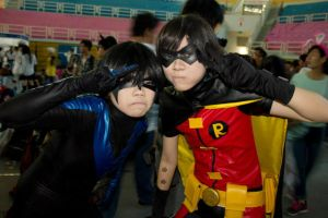 Saigon Comic Con 2014: Team Grayson by Lishrayder