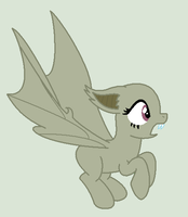 Scared Bat-Pony base 2 by alari1234-Bases