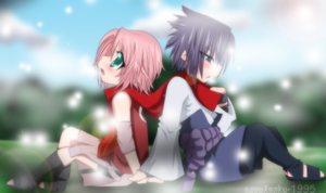sasusaku colour by sasuXsaku-1995