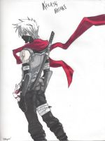 Kakashi as Anbu by 300rupees
