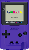 Game Boy Color [Purple] by BLUEamnesiac