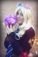 Everyone,this is Loony Love Luna Lovegood cosplay by MissWeirdCat
