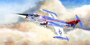 Lockheed F-104C Starfighter Really George by DouglasCastleman