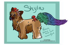 Shyla - 4C Chibi Lab Creation - For Crys by RoseArtStudios