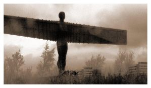 Angel of the North by recklesslibertine