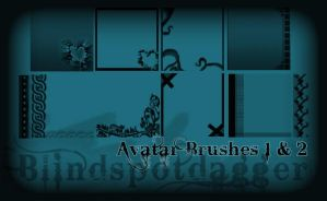 Avatar Brushes 1 and 2 by blindspotdagger