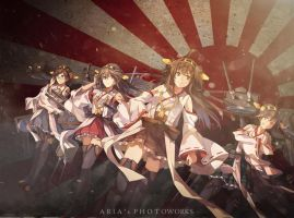 Kongou Sisters by Ariasandhy