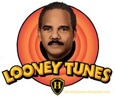 looney tunes ERIC HOLDER low rez by jbeverlygreene