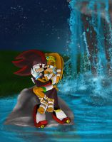 Tikal and Shadow: reflections of you: by Called1-for-Jesus