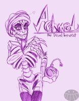 Achmed the Dead Guy by DCWyverx