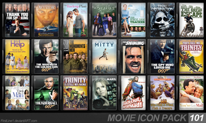 Movie Icon Pack 101 by FirstLine1