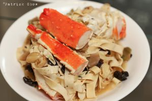 Crab legs with bean curd sticks by patchow