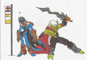 Da Hell are you doing Bro?_SOUL REAVER_2012doodles by AlexBaxtheDarkSide