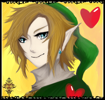 Blue Eyes of Link by Christy58ying