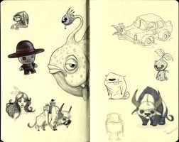 Moleskine Pages 2 by IgorSan