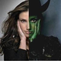 Idina and Elphie by FlyHighandDefy