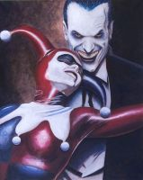 The Joker and Harlequin ID by negroh