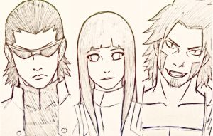 the team 8 baes [uncolored] by Mannie258