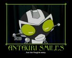 SRMTHFG - Antauri Smiles Motivational by Jackie-Chaos-Bunny