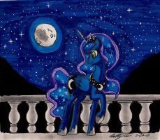 Princess of the night by newyorkx3