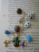 Majoras mask charm bracelet for sale by JenniferSlattery