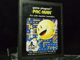 Pac-Man, today we're going oldschool! by forever-at-peace