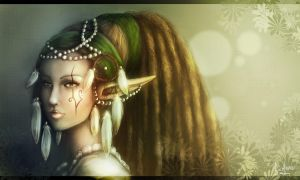 Bohemian Elf by SweetLhuna