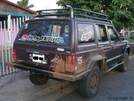 Jeep Cherokee rear part by Mister-Lou