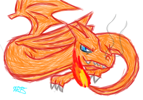 Charizard by uhnevermind