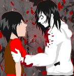 I found you! (Katsumi X Jeff the Killer) by Katsumi96Dokuro