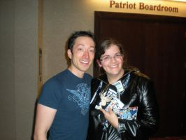 Me and Todd Haberkorn at Anime Crossroads 2011 by snowcloud8