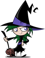 Little Witch by JaviDLuffy