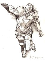 Iron Man Pencil 1 by ncajayon