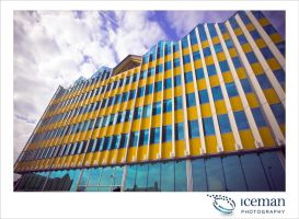 The Yellow Building 02 by IcemanUK