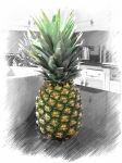 Pineapple Still Colourful by DoingArtIsMyThing