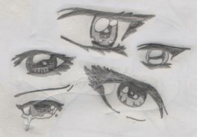 Anime Eyes by F-r-a-n-c-i-s-c-o