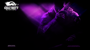 Black Ops 2 Purple - PS3 Wallpaper by Msbermudez