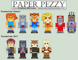 Paper Pezzy - Thundercats by CyberDrone