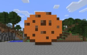 Minecraft - Cookie by unusual229