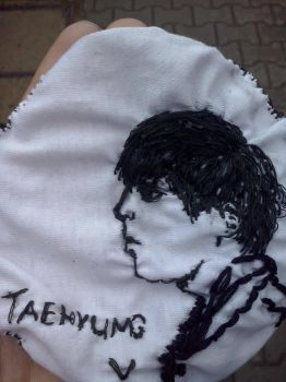 Taehyung (BTS) - embroidered. by TeaRULLEZ