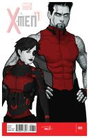 Domino and Colossus by tsbranch