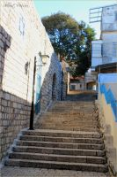 Stairs in the old city by ShlomitMessica