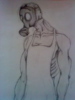 Steam Punk Gas Mask by potential-weed