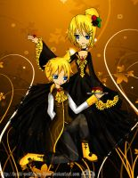 Servant and Princess of Evil by Hoshi-Wolfgang-Hime
