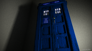 TARDIS Cycles Wallpaper by TheBigDaveC