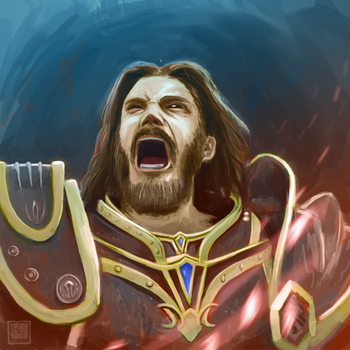 Warcraft Movie : Anduin Lothar by dragseal