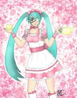 Voca: Miku Miku Cafe Maid by Swag-Thomas-Stroker