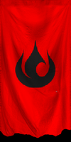 The Fire Nation Flag by ZhaneAugustine